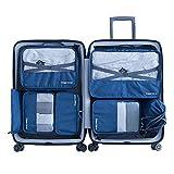 Packwürfel 7-Teiliges Kleidertaschen Set, Slimfone Packing Cubes | Packtaschen...