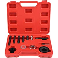 KIMISS 12pc Pulley Puller Remover Installer Set Servolenkungsgeneratoren Pulley Puller Installer Set