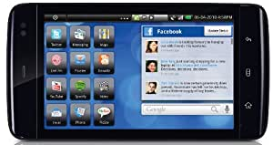 Dell Streak 12,7 cm (5 Zoll) Tablet-PC (Qualcomm Snapdragon, 1GHz, 3GB RAM, SD-Karten-Slot, Android) schwarz