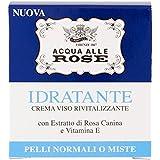 Acqua alle Rose - Crema Viso Rivitalizzante, Idratante, 50 ml