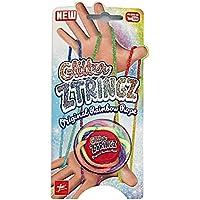 ZTringz Scintillant Jeu de filaments avec Jeu de Doigts Multicolore