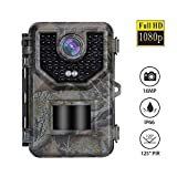 Boblov IP66 Wasserdicht Wildkamera,Mit 16GB Jagdkamera,Full HD 1080P 16MP Beutekameras,0,5S Triggerzeit,wasserdichte Nachtsichtkamera,Outdoor überwachungskamera