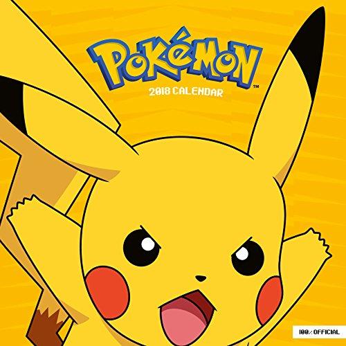 Pokemon Official 2018 Calendar - Square Wall Format par Pokemon