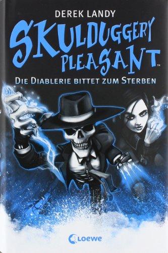 Buchseite und Rezensionen zu 'Skulduggery Pleasant - Die Diablerie bittet zum Sterben' von Derek Landy