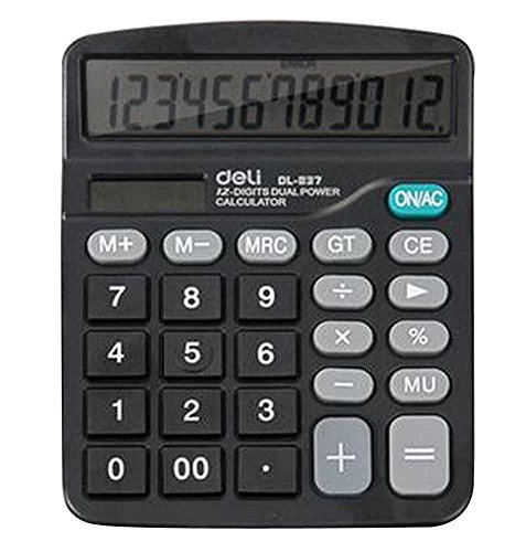 12-stellige Dual Power Source Standard Funktions-Tischrechner [B]