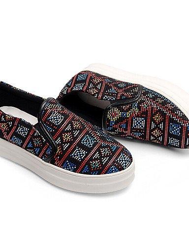 Multicores Sapatos Trepadeiras Lona Ssig us9 L Baixos Eu40 Sapatos Uk7 1 Outddor Zq Vendas Cn41 Plana Femininos Conforto Exvq4wU7