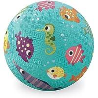 Crocodile Creek Fish Playground Ball–Balón de goma Natural–peces