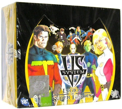 DC VS System Trading Card Game Legion of SuperHeroes Booster Box 24 Packs [Toy] (Vs-system-box)