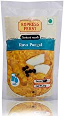 Express Feast Rava Pongal | Instant Rava Pongal | Ready to eat Rava Pongal | 3 Mins-Ready to Meal | Pack of 6 |