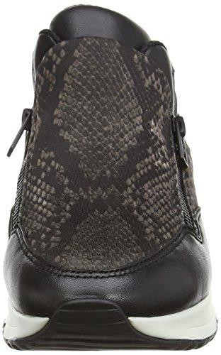 1707 Sneakers black Bis Schwarz stone Damen Lenny Ash qOtwT0zX