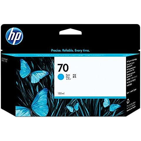 HP C9452A - Cartucho de tinta, 130 ml, Cian