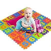Baby Niños alfombra Gamepad Niños Puzzle Espuma Pad Baby bruchsichere y kältebeständige ecológico para gatear - Peluches y Puzzles precios baratos