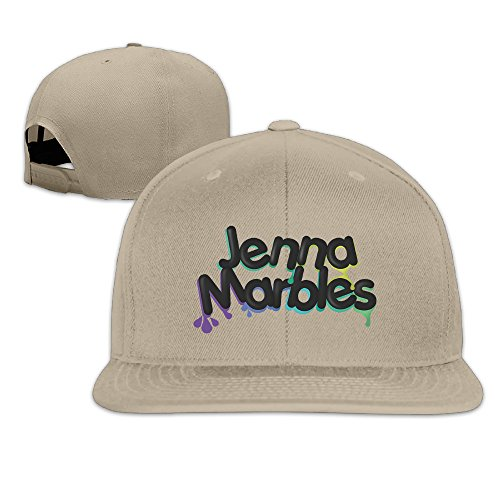 kgg-99g-jenna-marbles-adjustable-snapback-hip-hop-baseball-cap-natural