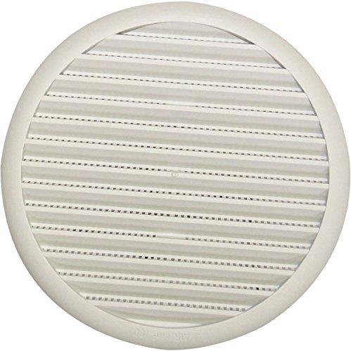 Grille universelle à ressort - Pastique - Blanc - Diamètre 140 mm - DMO
