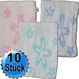 10 Stück Waschhandschuhe