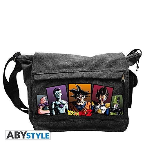 ABYstyle–Dragon Ball Bolso a bandolera Goku Vs Nemici Unisex adulto, 35x 25x 10cm, abybag083