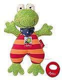 sigikid, Mädchen und Jungen, Spieluhr Frosch, Folunder Frog, Mehrfarbig, 38680