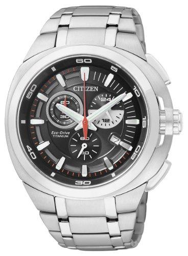 Citizen Herrenchronograph Super Titanium AT2021-54E