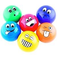Sport-Thieme Emotional Faces - Juego de 6 Pelotas, diseño de emoticonos