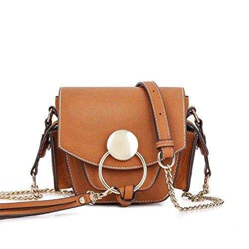 Retro camera bag/Incline sac à bandoulière/frotter l'anneau Pack/Mini paquet/Gland sac à bandoulière-A A