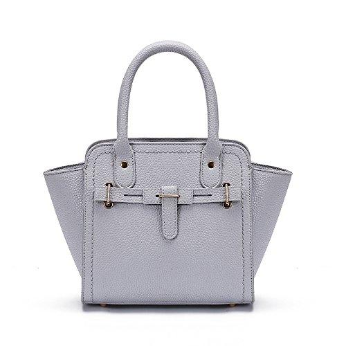 Mefly Sommer Mode Handtasche Geprägte Handtasche Handtasche Und Der Wind Light Grey