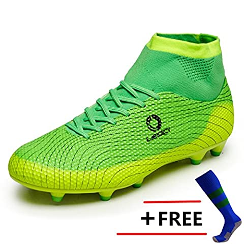 BOLOG Größe 33-45 Fußballschuhe AG Spike Microfaser Cleats Beruf Athletics High Top(fußballschuhe mit