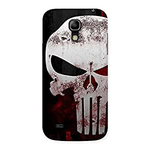 Special Bleed Red Skull Back Case Cover for Galaxy S4 Mini