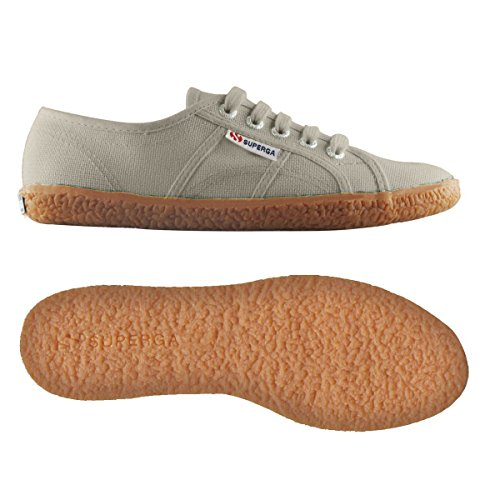 Superga 2750 Naked Cotu Sneakers Low Top da Donna Taupe