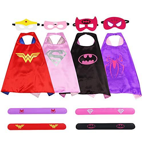 Buzifu Superhelden Kostüm Superman Kostüm für Mädchen Geburtstag