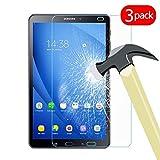 Lobwerk Film de Protection d'écran pour Tablette Samsung Galaxy Tab A SM-T580 SM-T585 10,1' 3X Schutzglas