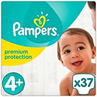 Pampers Premium Protection couches Taille 4  + Essential Lot 37