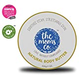 The Moms Co. Natural Body Butter (200g) for Stretch Marks, Dry Skin and Itchy Skin with Shea and Cocoa Butter