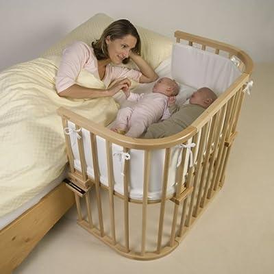 Babybay - 165101 - Cuna de colecho (colchón y fijaciones incluidos), color madera natural