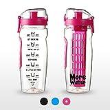 Best Water Bottles - 2 in 1 Fruit Infuser Water Bottle + Review
