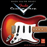 Fender Custom Shop Guitars 2015 Calendar (Square)