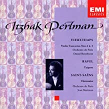 Itzhak Perlman - Vieuxtemps/Ravel/Saint-Saens