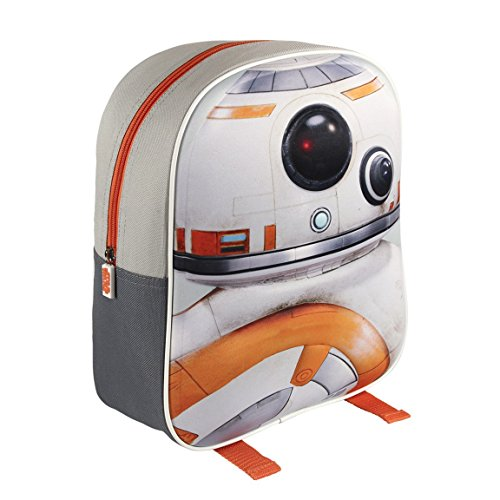 STAR WARS VII Mochila 3D Star Wars Bb8 Blanco