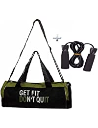 Combo Protoner Gym Bag Get Fit Dont Quit With Rope