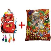 ALMACENESADAN 1188, piñata Perfil Disney Cars 33x46 cm, con Relleno de piñata (50