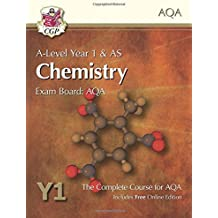 A-Level Chemistry for AQA: Year 1 & AS Student Book with Online Edition (CGP A-Level Chemistry)