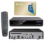Medialink Smart Home 1Card ML 1200S / 1150P,USB,CA,IPTV, Sender Vorinstalliert, Astra+Hotbird + Aktivierte Tivusat Karte