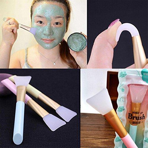 Sunnywill Gesichts-Tools Pro Beauty perfekt Make-up Foundation Soft Silikon Pinsel
