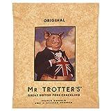 MR TROTTER Grande Ciccioli Di Maiale Britannico Del Signor Trotter - 60g Originale (Confezione da 2)