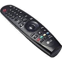 LG AN-MR650 Botones Negro - Mando a distancia (Botones, Negro, TV, LG, LG: G6, E6, C6, B6, UH9500, UH8500, UH7700, UH6550, UH6500, UH6350, UH6330, UH6300)