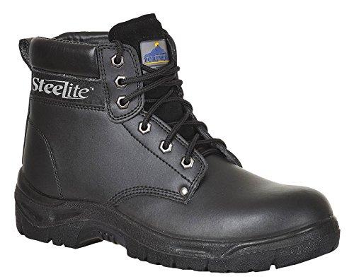 Portwest Fw03 Steelite™ Travailler Boot S3 Mens Chaussures Protection Nouvelles Nero