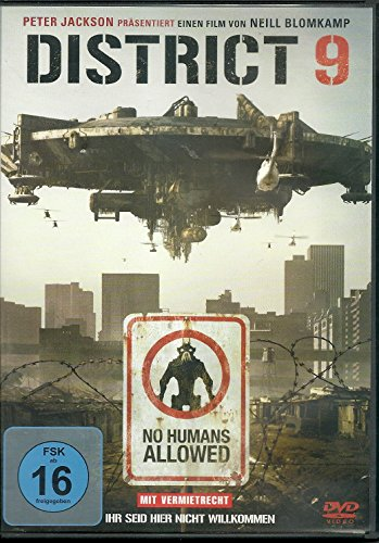 DISTRICT 9 - No Humans Allowed