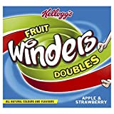 Kellogg's Fruit Winders Doubles Apple & Strawberry, 6 Rolls
