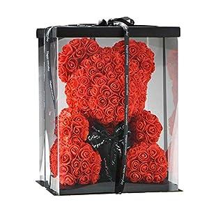 SUPERMOLON Oso de Rosas 40cm