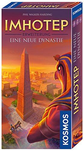 ep - Eine neue Dynastie, Erweiterung des Grundspiels, Strategiespiel mit viel Interaktion und Spieltiefe, Brettspiel für 2 bis 4 Spieler ()