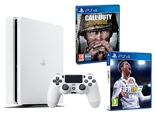 PS4 Slim 500Gb Blanca Playstation 4...